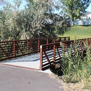 Lakeview Farms Foot Bridge